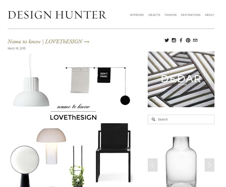 DESIGN HUNTER